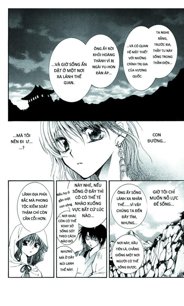 Akatsuki no Yona chap 9, akatsuki no yona chuong 9 tieng viet, muon sac cuoc doi